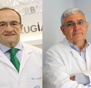 Doctores Javier Montes y Alberto Sáenz