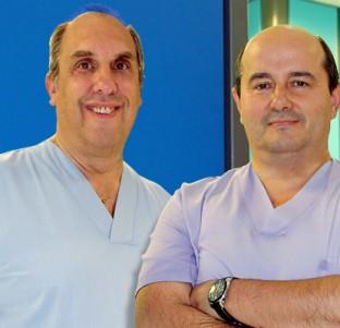José Luis Elósegui y Javier Murgoitio, cirujanos generales