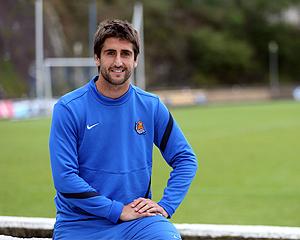 Markel Bergara, centrocampista de la Real Sociedad